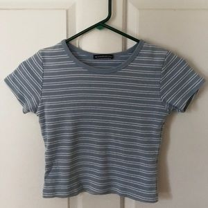brandy striped shirt